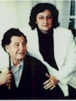 Photograph of Panayiota and Daskalos