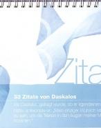 33-Sprüche von Daskalos - Deutsch